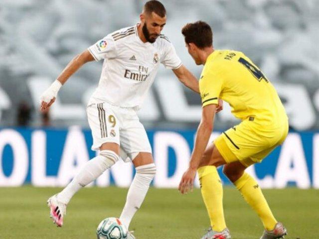LaLiga Santander: Real Madrid se consagró con el título 34° tras derrotar al Villarreal