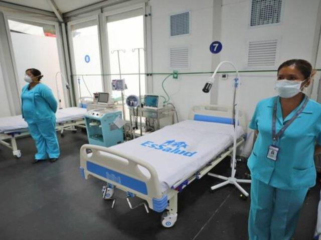 Villa Mongrut: personal sanitario denuncia malas condiciones laborales
