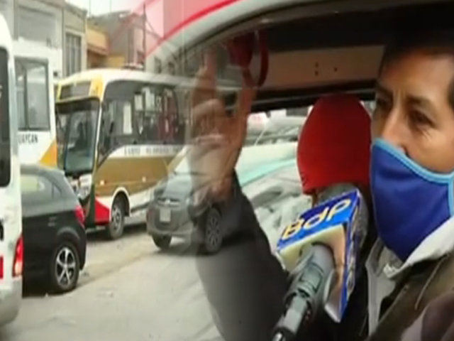 San Juan de Lurigancho: caos y tráfico en la avenida Los Héroes