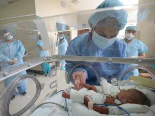 Hospital Rebagliati: Bebé que nació con 580 gramos superó la COVID-19