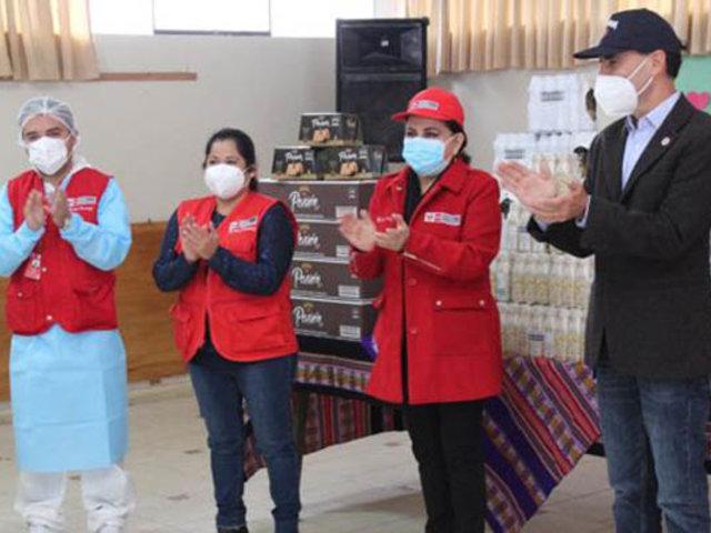 Empresa donó más de mil toneladas de alimentos a familias  vulnerables
