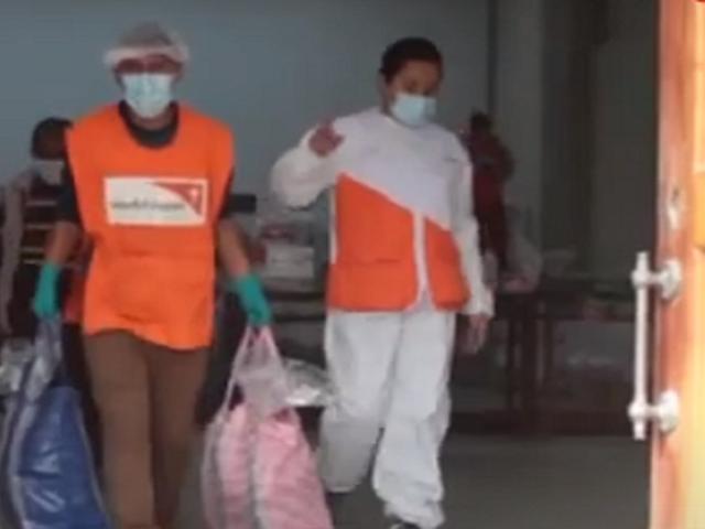 Organización World Vision Perú entregó más de 2 500 canastas a familias vulnerables