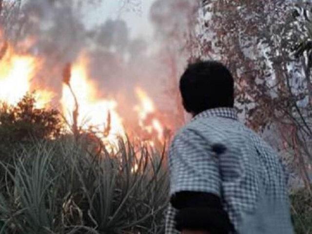 Áncash: COER reporta 40 incendios forestales en lo que va del 2020