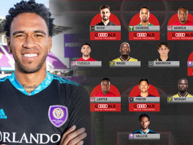 Pedro Gallese en el once ideal de la semana de la MLS Is Back
