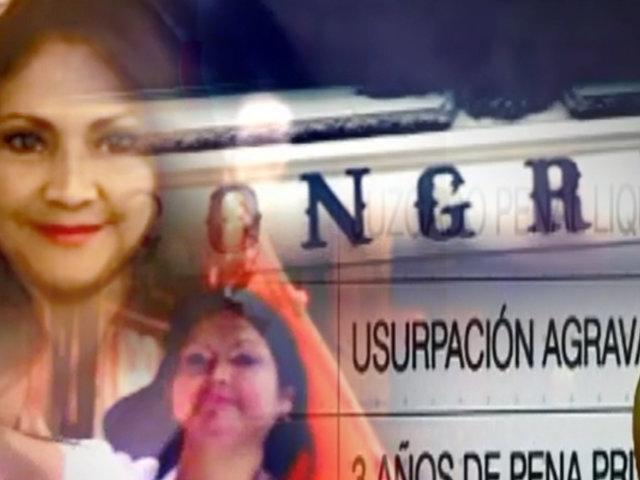 Detalles de la condena y contrato  de la congresista Liliana Pinedo
