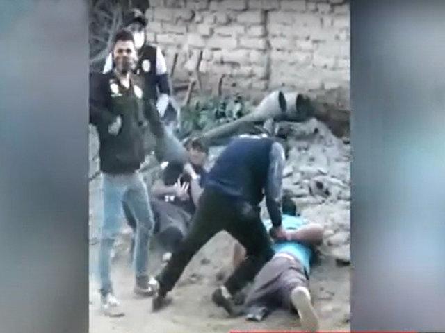 VMT: Policía detiene a tres sujetos que vendían droga al menudeo