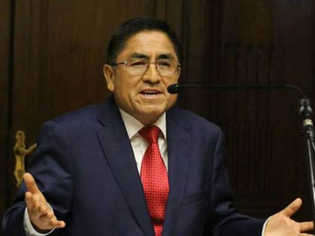 César Hinostroza: exjuez supremo respondió a denuncia de  la Fiscal de la Nación