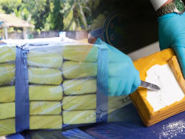 Costa Rica: policía decomisa 3,3 toneladas cocaína en aguas del Caribe
