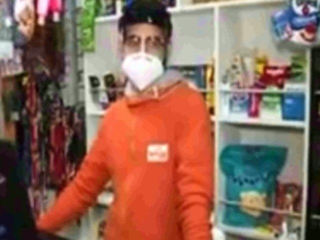 Miraflores: personal de minimarket teme por su salud ante peligrosa modalidad de robo de 'tenderos'