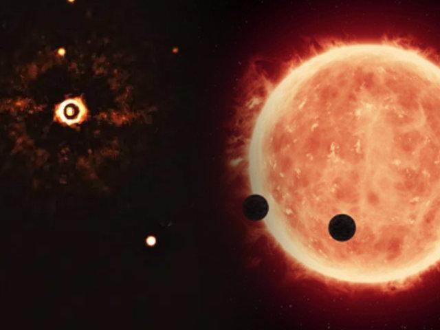Presentan la primera imagen de un Sistema Solar similar al nuestro