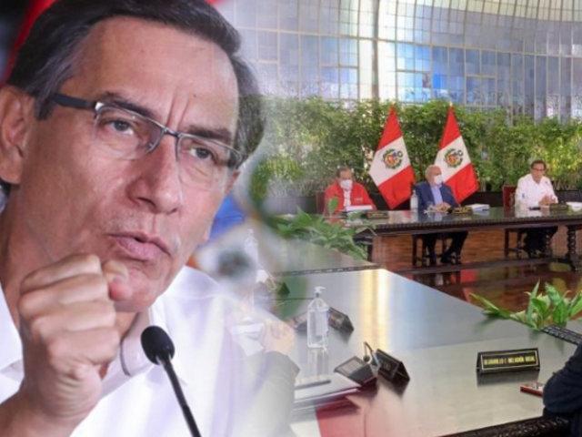 """Martín Vizcarra: """"Retomamos la inmovilización obligatoria los domingos"""""""