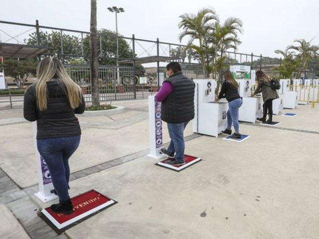Parque de las Leyendas : 40 inspectores fiscalizarán que se mantenga la distancia social