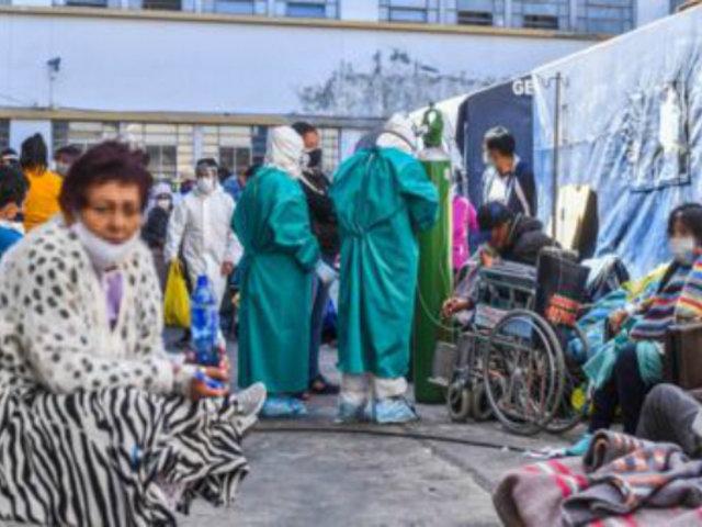 Arequipa: Ejecutivo oficializa intervención del Minsa para mitigar crisis sanitaria