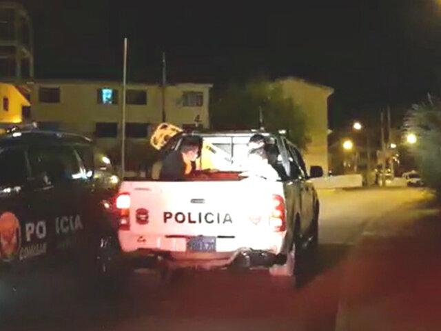 Huancayo: familiares de víctima de COVID-19 destrozan hospital