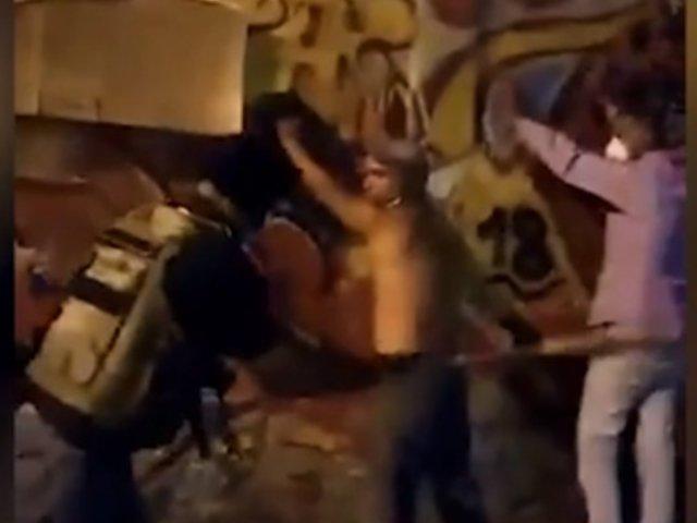 Venezuela: presuntos colectivos chavistas golpean a quienes incumplen la cuarentena