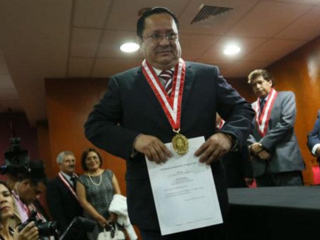 Luis Arce continuará en el JNE por decisión unánime de Junta de Fiscales Supremos