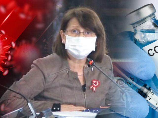 Vacuna covid-19: Mazzetti asegura que aplicación de dosis no será obligatoria