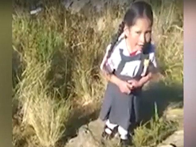 Huánuco: pequeña enternece las redes por emotivo gesto