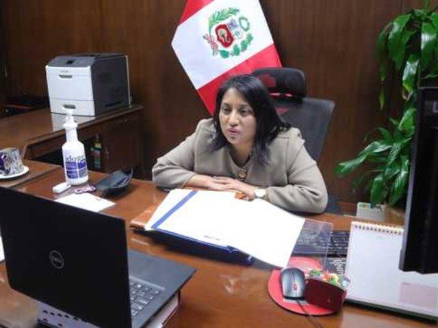 """Ministra de Justicia: """"La Comisión de Constitución está trabajando"""""""