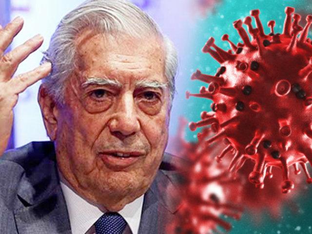 Mario Vargas Llosa pide ayuda internacional para combatir el  Covid-19 en Arequipa