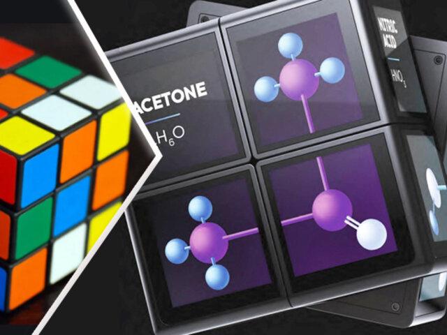 WOWCube: el cubo de Rubik se convierte en consola