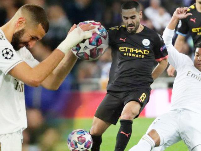 Champions League: el encuentro de MánchesterCity vs. Real Madrid no se jugaría por cuarentena