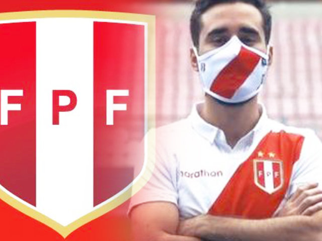 FPF presenta las mascarillas de la selección peruana