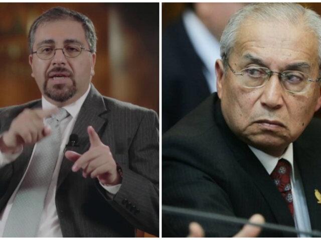 Coordinador de asesores del presidente del PJ asegura que Chávarry es víctima de persecución