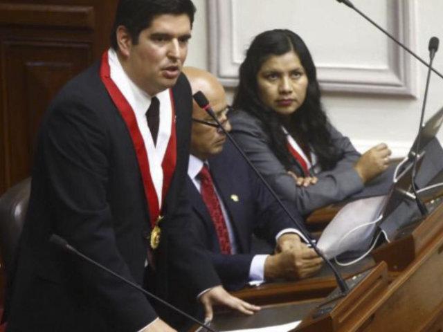 Congreso: proponen crear sistema nacional de justicia constitucional