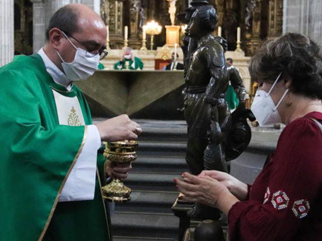 México: iglesia católica reanudó misas presenciales tras suspensión  por Covid-19