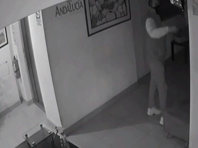 Magdalena: presuntos delincuentes ingresan a edificio tras forzar la puerta