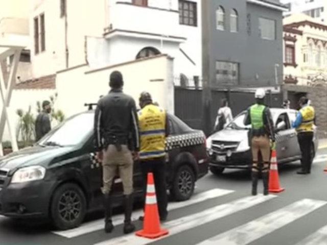 Miraflores: Identifican a mafias que realizan ilegal servicio de colectivo