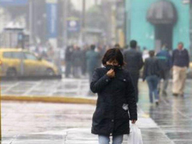Lima vivió el día más frío en lo que va del año, advirtió Senamhi