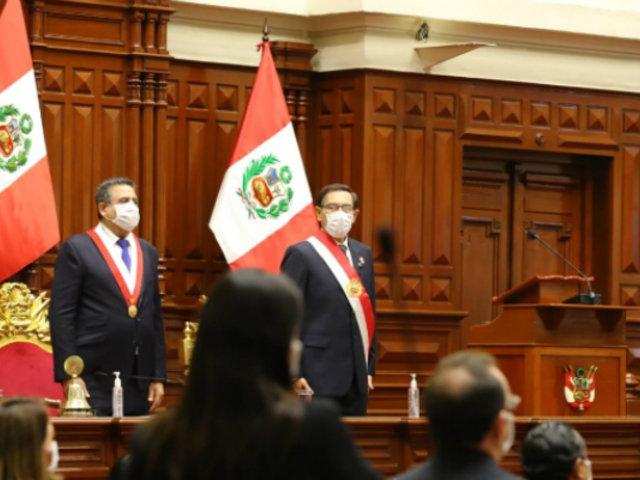 """Martín Vizcarra: """"convoco a las fuerzas políticas a ser parte del Pacto Perú"""""""