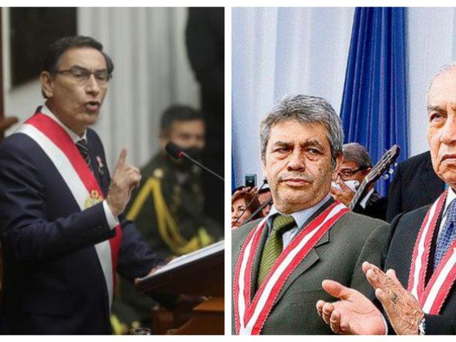 """""""Todos somos iguales ante la ley"""", indica Vizcarra sobre suspensión de fiscales supremos"""