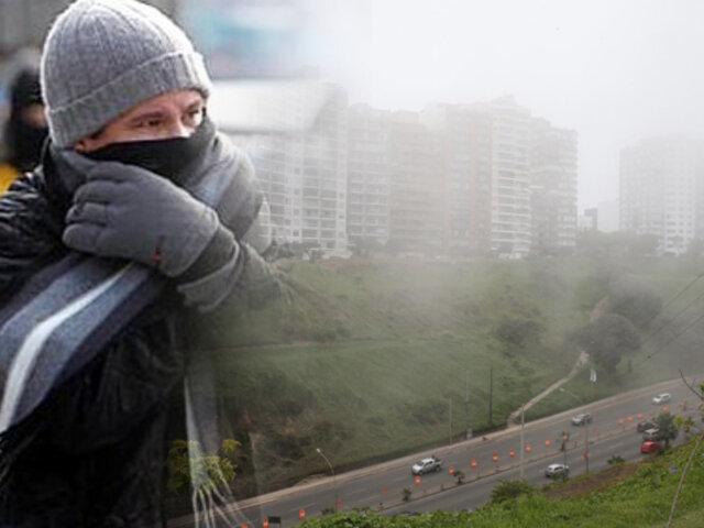 SENAMHI: Lima amanece con 14 grados y se continuará registrando bajas temperaturas en los próximos días