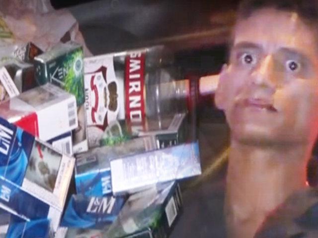 Policías capturan banda que robó un minimarket en Surquillo