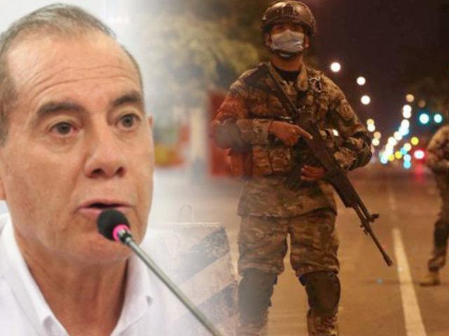 Estado de emergencia: Gobierno contempla que continúe en los próximos meses