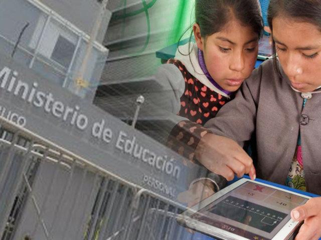 Más de 1 millón de tablets se distribuirán a nivel nacional en octubre