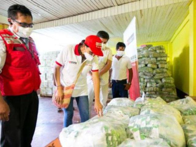 Loreto: entregan más de 31 toneladas de alimentos de Qali Warma para personas vulnerables