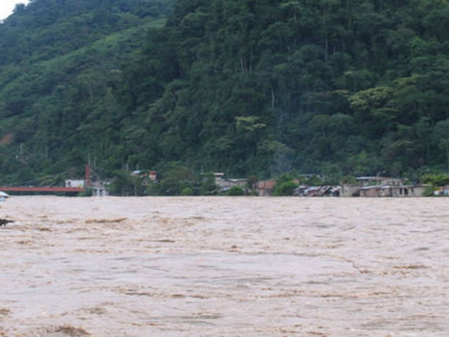 San Martín: padre e hijo desaparecen tras ser arrastrados por el río Huallaga