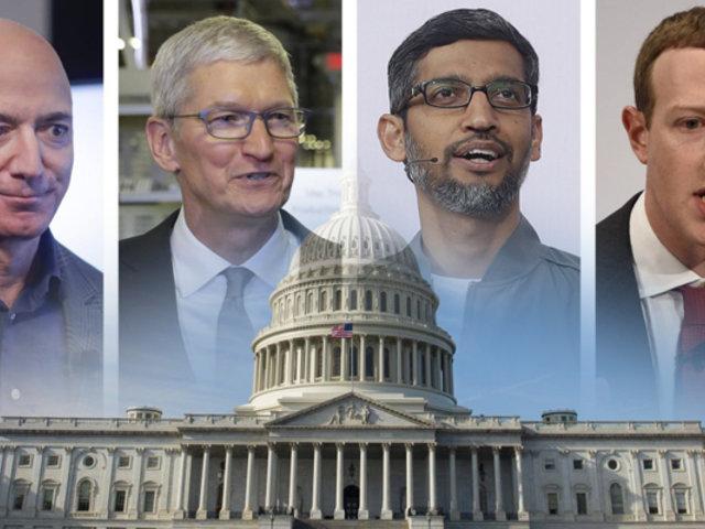 EEUU: lideres tecnológicos del mundo comparecen ante Congreso norteamericano
