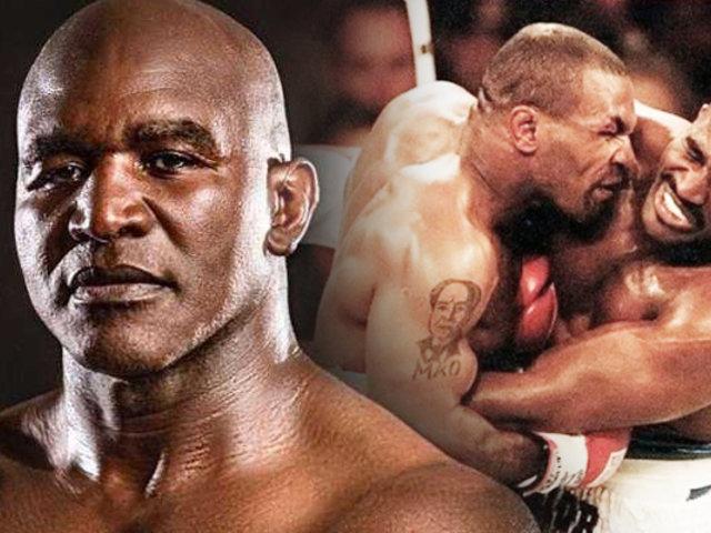 Evander Holyfield furioso con Tyson por no elegirlo como rival para su vuelta al boxeo