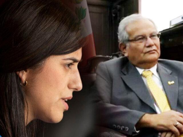 Congreso cita a ministra Alva y a su padre por presunto contrato con el Estado