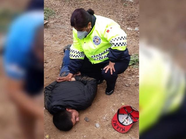 Surco: Mujer serenazgo captura a ladrón mientras iba a almorzar a su casa