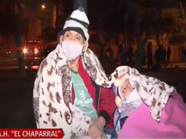Padre de 70 años arriesgó su vida para salvar a su hijo con parálisis cerebral en incendio del Jirón Callao