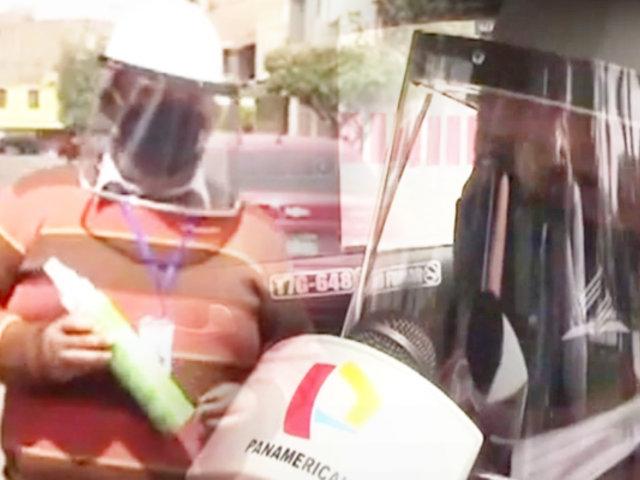 Trujillo: taxista usa balón de oxígeno portátil para ayudar a pasajeros con COVID-19