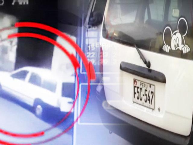 """Capturan a sujeto que """"maquillaba"""" autos robados en el Cercado de  Lima"""