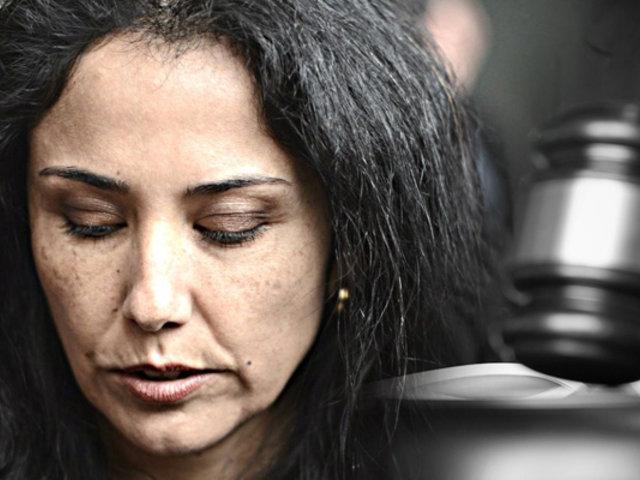 Nadine Heredia: PJ reanudó audiencia para evaluar prisión preventiva en su contra