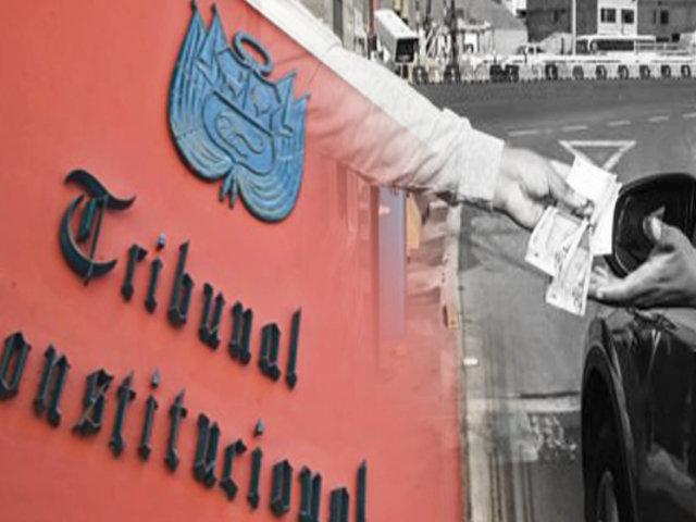 TC evaluará la suspensión de cobro de peajes en audiencia pública el 12 de agosto